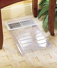 Vent Extender Air Condition Heat Register Extender Deflector Under Furniture Use