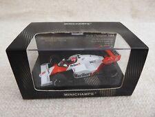 Colección de campeones del mundo Minichamps 1:43 N. Lauda McLaren MP4/2 1984 Calcomanías
