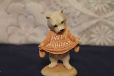 More details for m&g studio world of willy westy resin dog figurine