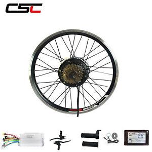 36V 500W Electric Bicycle Motor Kit 27.5 28 29 inch Electric Bike Kit LCD Meter
