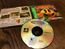 Pac-Man World 20th Anniversary (Sony PlayStation 1, 1999) Used Free US Shipping