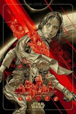Rogue One Martin Ansin Mondo Con Poster Screen Print Limited Edition Ansin MC4