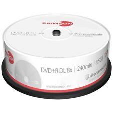 150 x PRIMEON Dvd-r DL Dual Layer 8.5gb 240 minuti 8x Cake Box DVD R -r 2761251