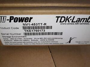 TDK-Lambda  NV1-453TT-R  Power Supply 175W 5V/25A 3.3V/15A 12V/5A, -12V/1A