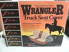 VTG Fia TR48 NAVY BLUE Wrangler Custom Seat Cover Saddleblanket GM/CHEVY TO 1994