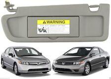 Genuine Honda OEM - Civic Atlas Gray Driver's Side Sun Visor - 83280-SNA-A01ZA