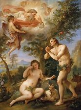 The Expulsion from Paradise by Charles Joseph Natoire Old Masters 13x17 Print