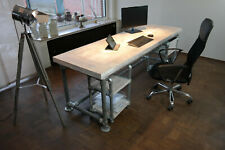 Schreibtisch Bürotisch Industrie Look New Castle Home Office
