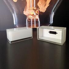 Ersatzglas 6240 für Wofi Sydney Glas weiß lackiert mit Klarrand