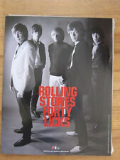 Rolling Stones Forty Licks Promo poster 11x14