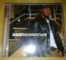 SEAN SIMMONDS. -    ITS OVER.   -  RARE INDIE R&B  CD
