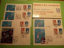 1978 Campionati Mondiali di Pallavolo 7 Buste in Astuccio