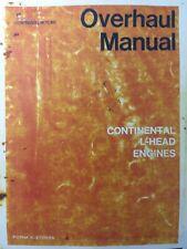 Continental Engine Service Manual N56 N62 Y69 Y91 Y112 F124 F125 F140 F162 F163