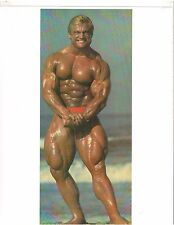 bodybuilder TOM PLATZ Bodybuilding Close Up Most Muscular Muscle Photo Color