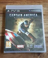 CAPTAIN AMERICA SUPER SOLDAT Jeu Sur Sony PS3 Playstation 3 Neuf Blister VF Rare