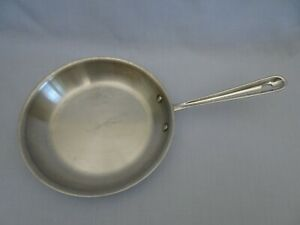 """ALL-CLAD Stainless Steel 10"""" Inch Saute Frying Pan Skillet Metalcrafters USA"""