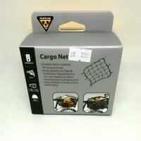 Topeak CARGO NET TCN02  Attaches To Rack Or Basket With Durable, Coated Hooks