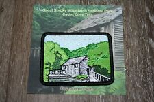 Official Great Smoky Mountains National Park Patch - Cades Cove Loop - Free Ship