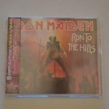 IRON MAIDEN - RUN TO THE HILLS CD1 -  2002 JAPAN 4-TRACKS CD SINGLE