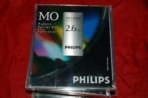 NEW Philips  2.6GB  5.25 MO OPTICAL DISK rewritable 130 mm
