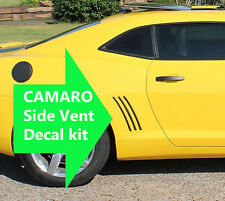 2010 2011 2012 2013 Chevy Camaro Side Vent Inserts Decals Stripes Inlays Vinyl B