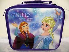 Disney Frozen Anna & Elsa Sisters Are Magic Insulated Lunch Bag School Picnic