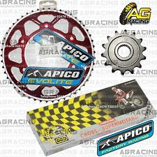 Regina 520 RH Chain Apico Sprocket Set 14T 50T Rear Red For Honda CRF 250R 2010
