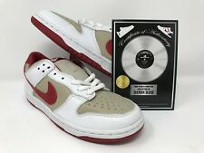 best authentic b6a40 64059 Damon Dame Dash ShoeZeum Nike Dunk Low 2002 Stone Red White 302517 161 Size  10