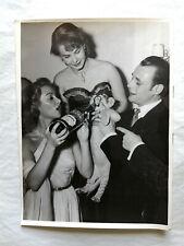 MARTINE CAROL –  PHOTO  ORIGINALE + DOCUMENT D'EPOQUE - TRÈS RARE –  1951