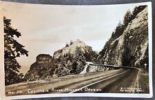 RPPC Oregon OR Columbia George River Hwy No 30 Markham The Dallas C1930s