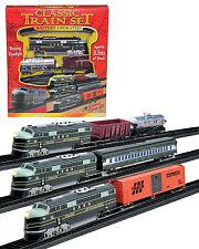 Train Set 3 With Tracks Battery Operated Classic Train Set Retro Design Trains