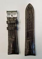 Original Hamilton Jazzmaster H328160 / H328162 Brown Leather 24mm Band Strap