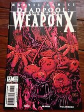 Deadpool #57 Agent Of Weapon X #1  October 2001 Barry Windsor Smith homage cover