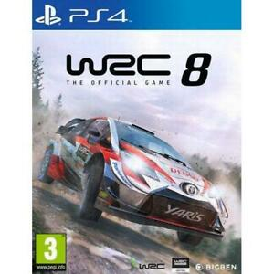 WRC 8 Sony PS4 Game 3+ Years
