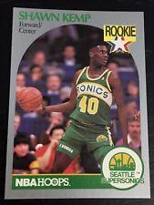 1990-91 Skybox SHAWN KEMP RC #279 basketball card ~ Seattle Sonics rookie ~ F1