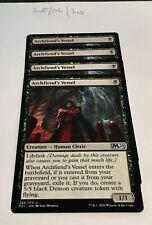 Magic the Gathering MTG Archfiend's Vessel x4 Uncommon Cards NM/M M21