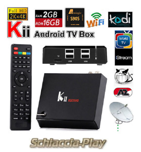 KII PRO MECOOL Hybird STB DVB-T2 / S2 /C 2GB/16GB YouTube 4K Netflix HD Android