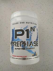 Phase One Nutrition PRE PHASE KO Super High-Stim Pre Workout Powder 30 Servings