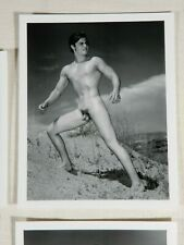 Beautiful 4x5 Male Nude Photographs, New Western Photography Guild Set, Metcalf