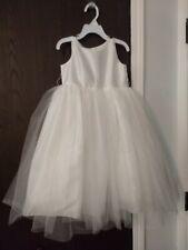 Toddler Girl Ivory Flower Girl Princess Dress Size 4T