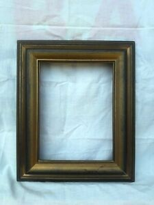 Antique Old Vintage Hard Wood Wooden Picture Photo Frame Wall Hanging Decor
