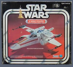 Original Vintage STAR WARS 1978 X-WING FIGHTER in Box - NICE EXAMPLE!