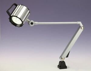 CNC MACHINE EM WORK LIGHT LAMP LED WITH SWING ARM Made in TAIWAN 110/220V