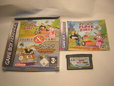 nintendo game boy advance Cartoon Network Speedway + Block party     boite GBA