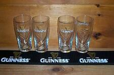 GUINNESS BEER MAT BAR COASTER & 4 GUINNESS GALAXY STYLE PINT GLASSES NEW
