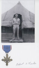 Robert Keeler WWII Distinguished Service Cross 2nd highest medal SIGNED PHOTO