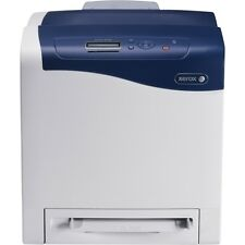 Xerox Phaser 6500 Color Laser Printer Machine W/Power Supply & USB Cable