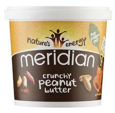 Meridian Crunchy Peanut Butter 1kg **100% Nuts + No Palm Oil**