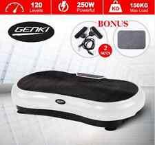 Genki Ultra Slim Vibration Fitness Machine Body Shaper Platform 2nd Gen - White
