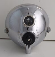 "Lucas Chrome 7"" headlight headlamp ssu700 bsa triumph norton matchless bobber"